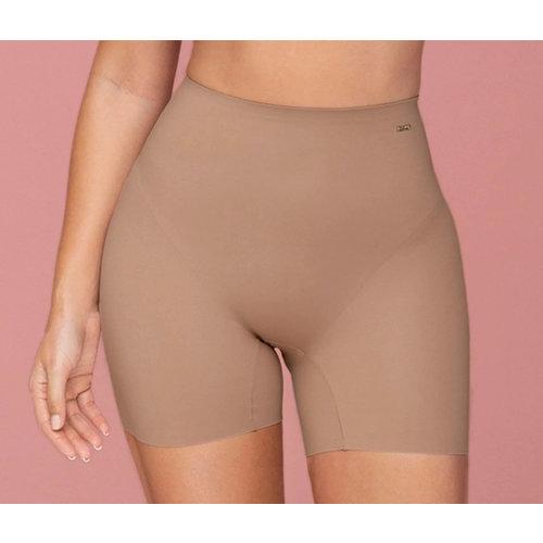 Instant Butt Lift Padded Shaper Short  Leonisa   Brown