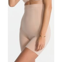 Oncore High Waist Mid Thigh Short | Soft Nude