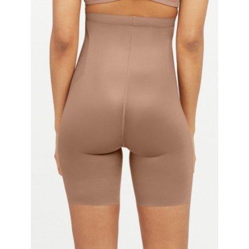 Thinstincts 2.0 High Waisted Mid Thigh Short SPANX   Dark Nude