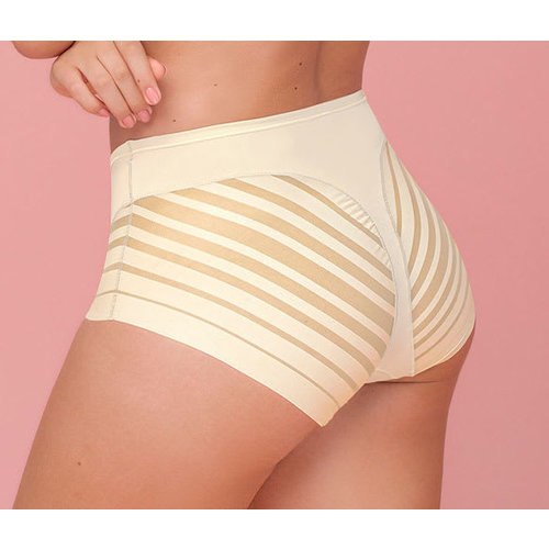 Lace Stripe Undetectable Slip | Leonisa | Weiss