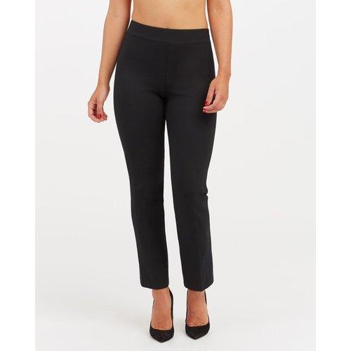Perfect Black Pant - Slim Straight Leg | Zwart