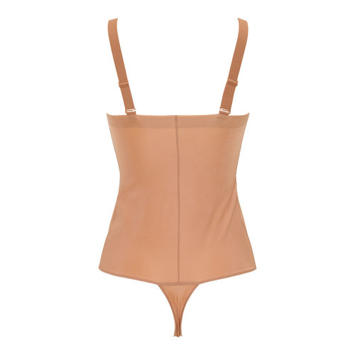 Power Players Thong Bodysuit Maidenform | Nude