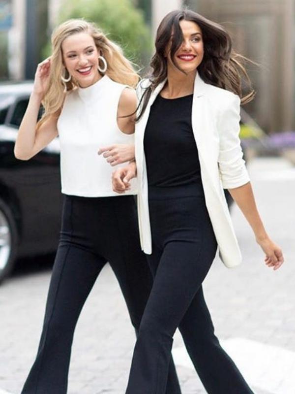 perfect black pants spanx