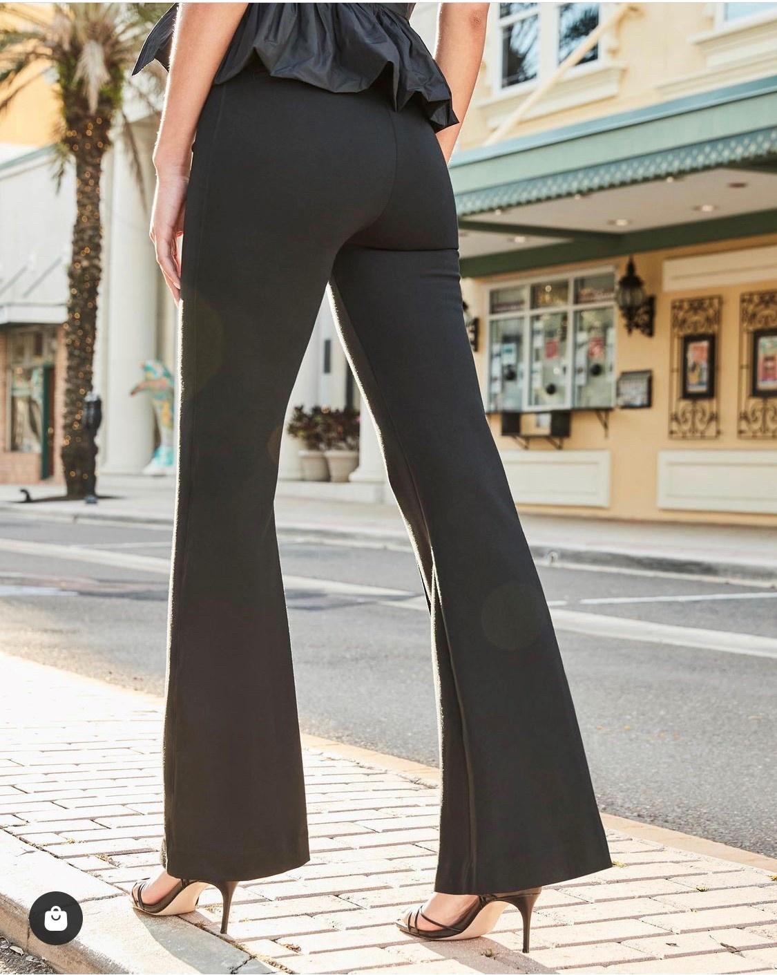 perfect balck flare pants