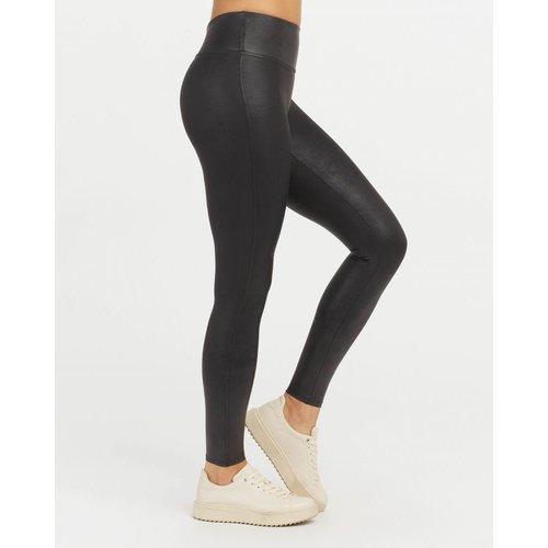 Faux Leather Legging Spanx | Zwart