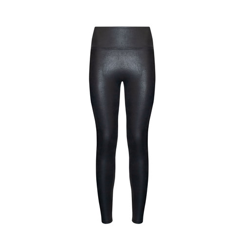 Leather Look Legging MAGIC Bodyfashion   Zwart
