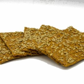 Suikerarme Crackers met zonnebloempitten Proslank 6 stuks