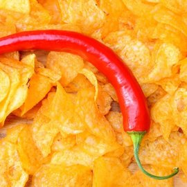 Suikerarme Chips Paprika Proslank 2 zakjes