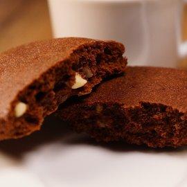 Eiwitrijke Brownies met witte choco stukjes Proslank  10 stuks