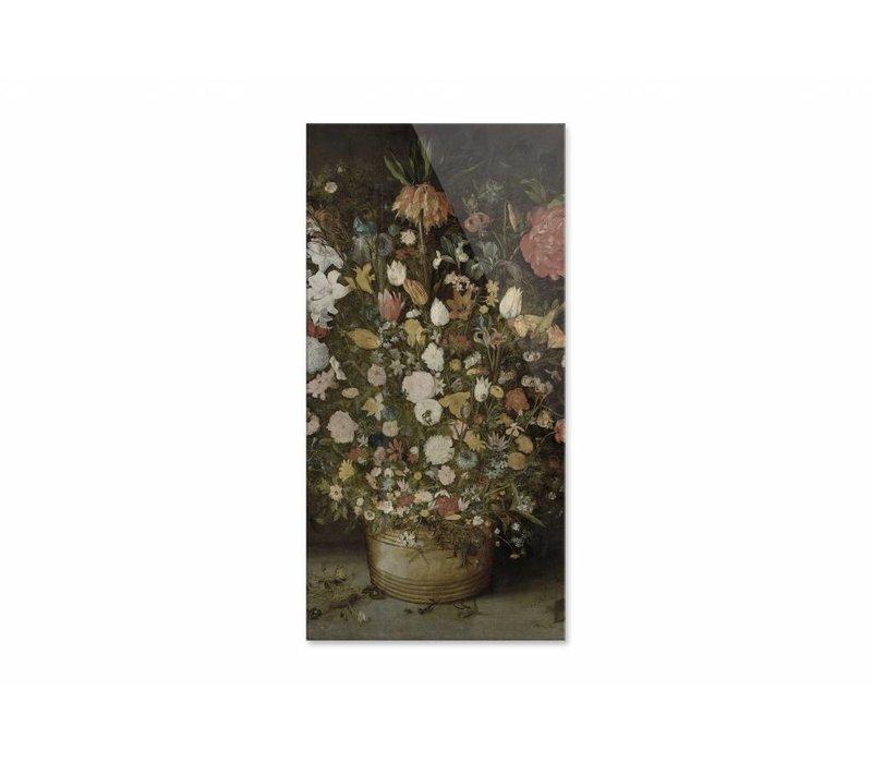 Bloemen in pot • staande afdruk op plexiglas