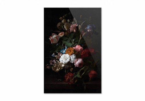 Vaas met bloemen3 • staande afdruk op plexiglas
