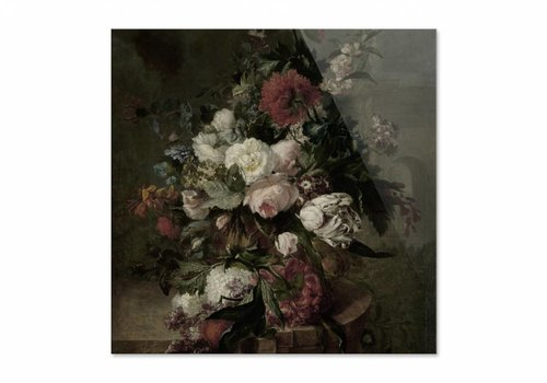Stilleven met bloemen2 • vierkante afdruk op plexiglas