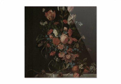 Stilleven met bloemen3 • vierkante afdruk op plexiglas