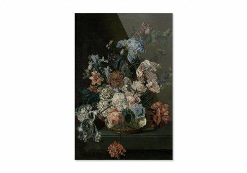 Stilleven met tulpen • staande afdruk op plexiglas