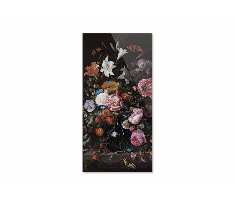 Vaas met bloemen2 • staande afdruk op plexiglas