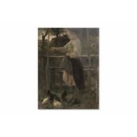 Kippetjes voeren • staande afdruk op plexiglas
