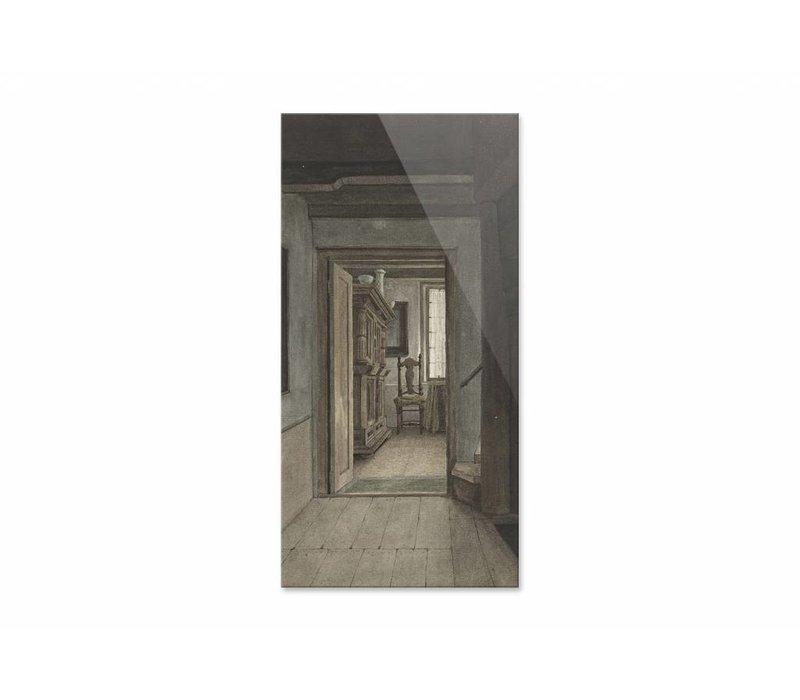 Binnenhuis 1 • staande afdruk op plexiglas