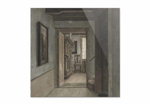 Binnenhuis 1 • vierkante afdruk op plexiglas