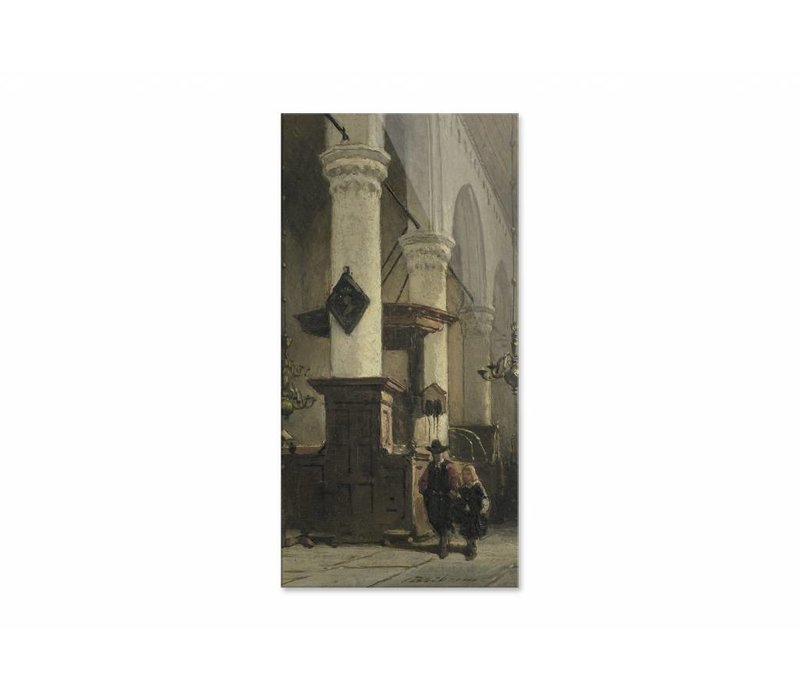 Kerkinterieur 2 • staande afdruk op plexiglas