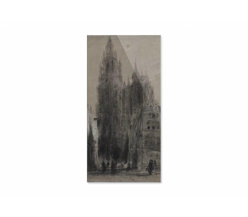 Onze Lieve Vrouwekathedraal van Antwerpen • staande afdruk op plexiglas