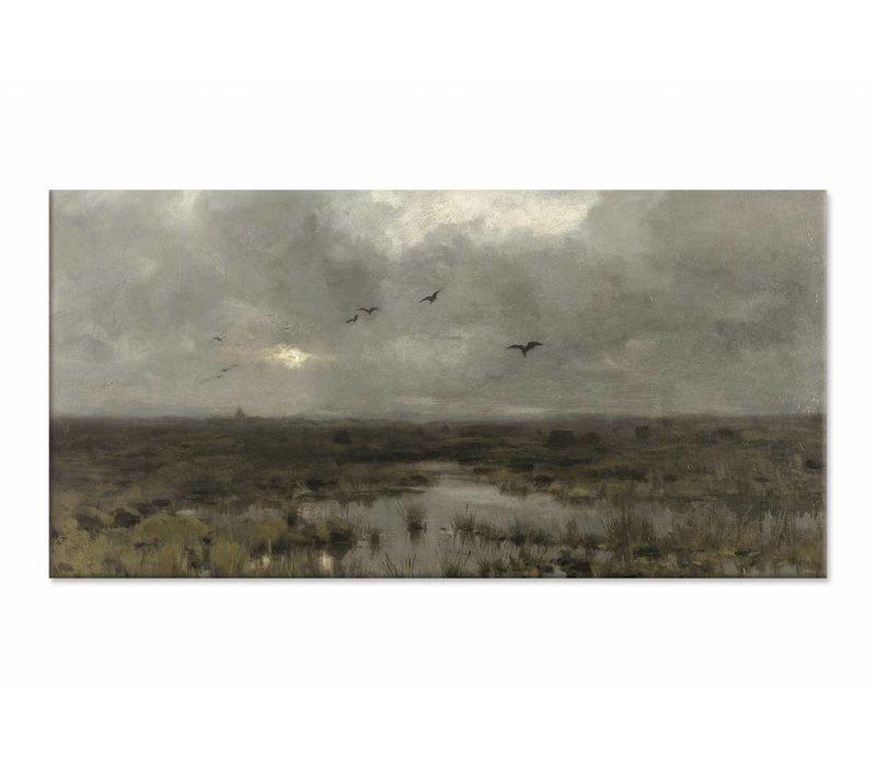 Het moeras • liggende afdruk op canvas