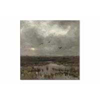 Het moeras • vierkante afdruk op canvas