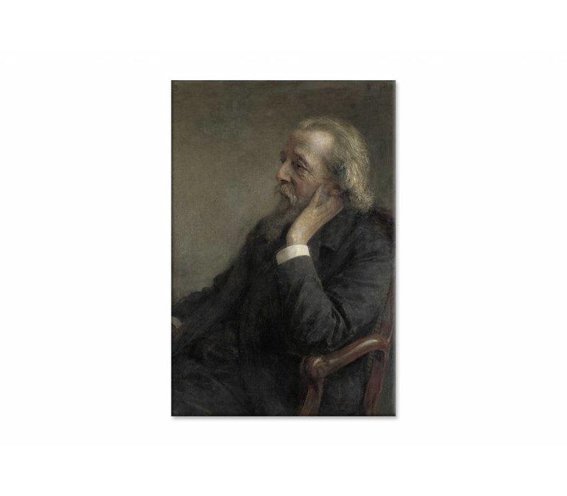 Ds Hugenholtz II • staande afdruk op canvas