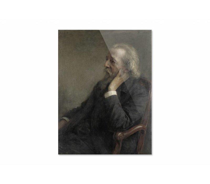 Ds Hugenholtz II • staande afdruk op plexiglas
