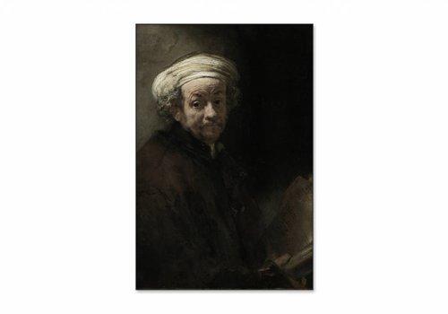 Zelfportret als de apostel Paulus • staande afdruk op textiel
