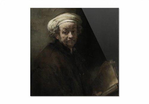 Zelfportret als de apostel Paulus • vierkante afdruk op plexiglas