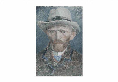 Zelfportret • staande afdruk op plexiglas