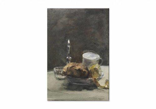 Stilleven1 • staande afdruk op canvas