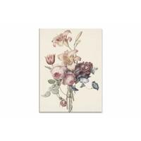 Een boeket • staande afdruk op canvas