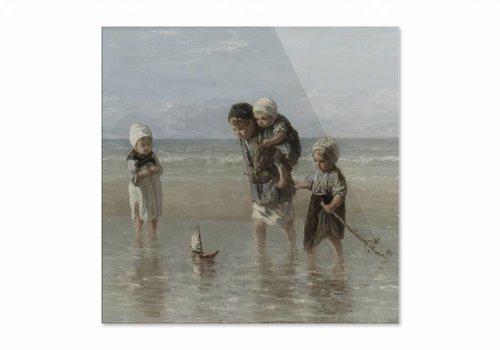 Kinderen der zee • vierkante afdruk op plexiglas