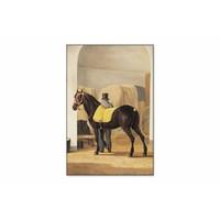 De harddraver de Rot van Adriaan van der Hoop • staande afdruk op textiel