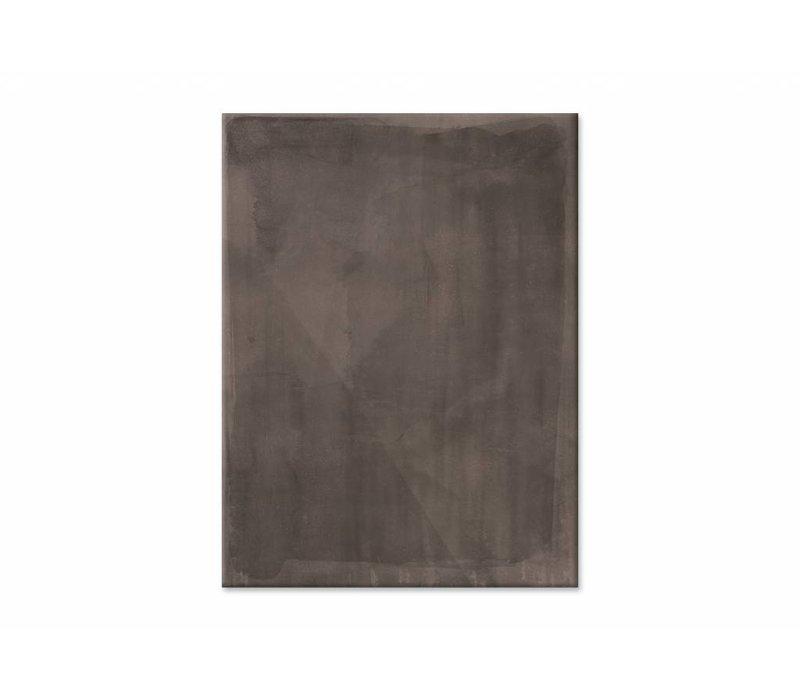 Shade brose • staande afdruk op textiel