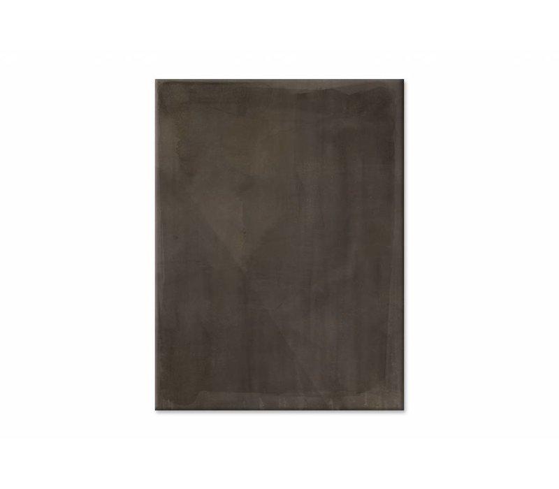 Shade sienna • staande afdruk op canvas