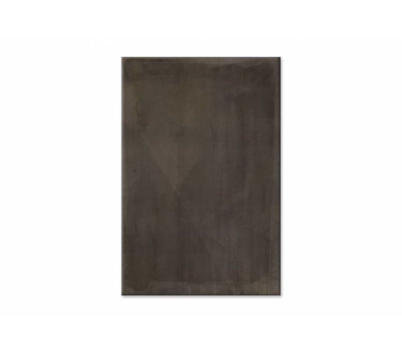 Shade sienna • staande afdruk op textiel