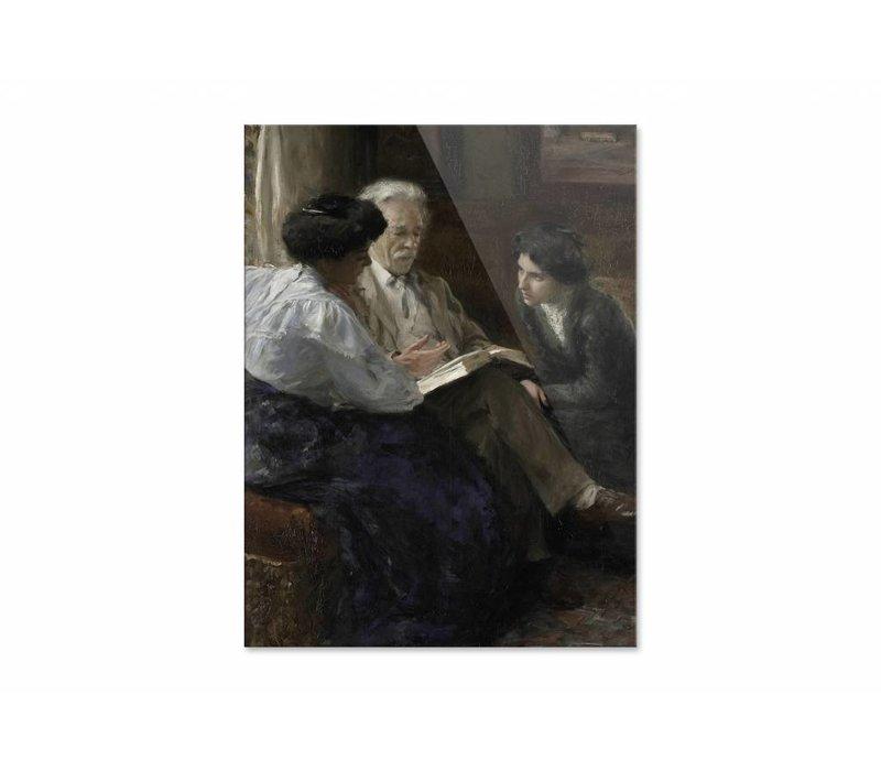 Alphons Marie Antoine Joseph • staande afdruk op plexiglas
