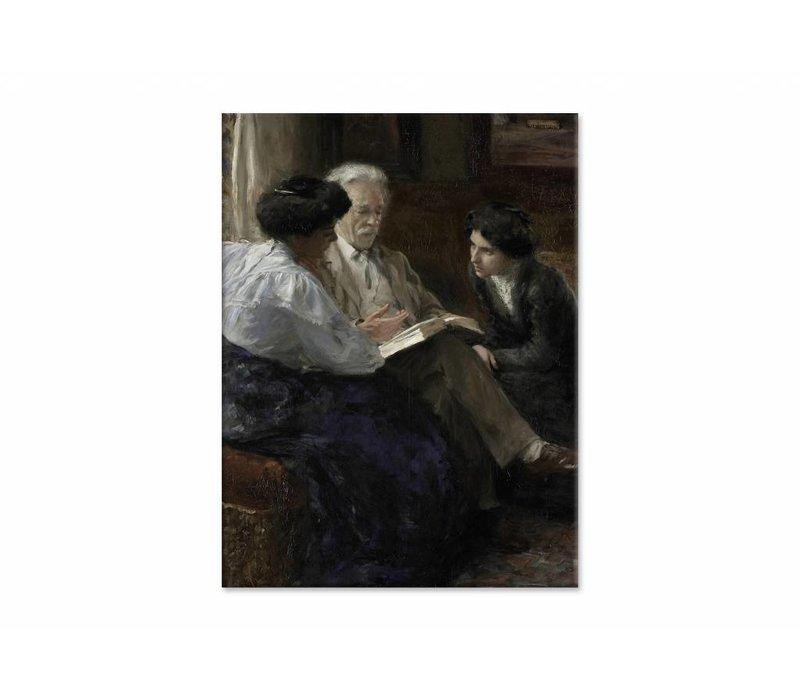 Alphons Marie Antoine Joseph • staande afdruk op canvas