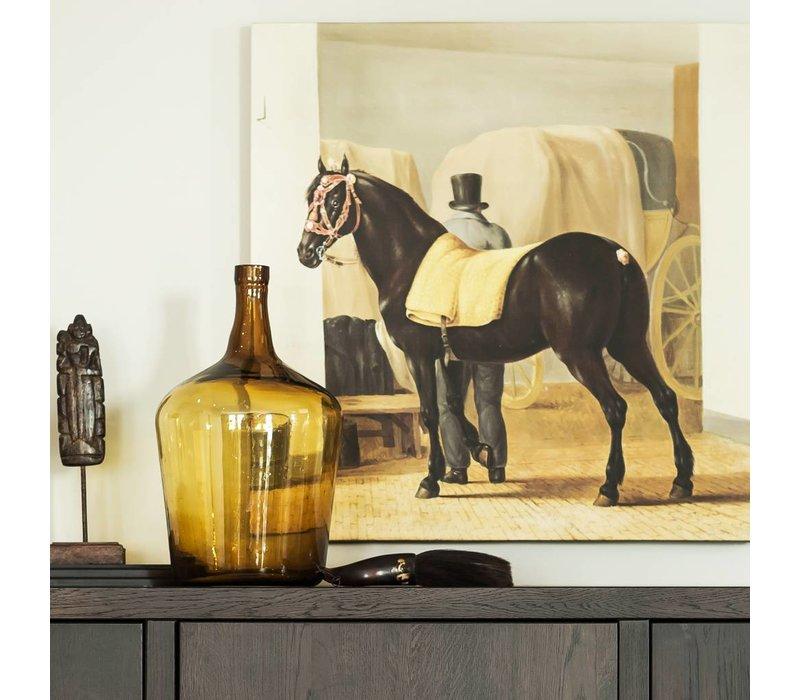 De harddraver de Rot van Adriaan van der Hoop • vierkante afdruk op canvas