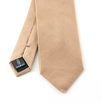 Beige stropdas
