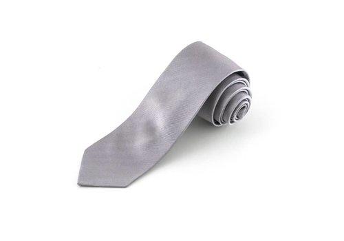 Zilvergrijze  stropdas
