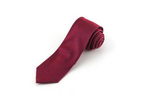 Rode faux-uni stropdas