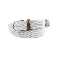 Witte elastische geweven riem