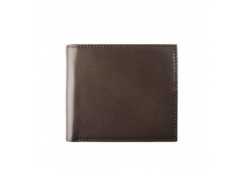 Bruine leren portemonnee