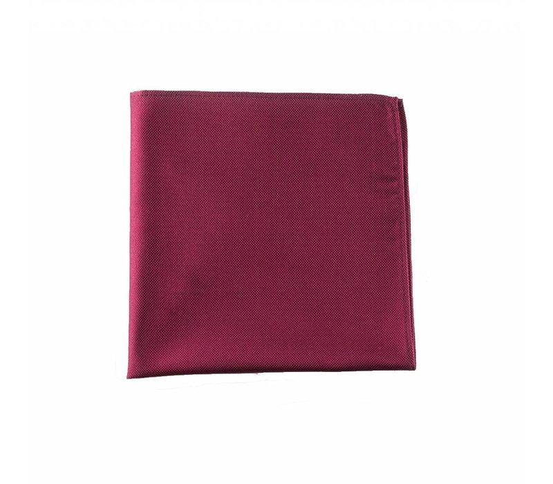 Bordeaux pochet zijde
