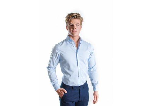 Blauw  gestreept overhemd