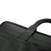 Zwarte laptoptas
