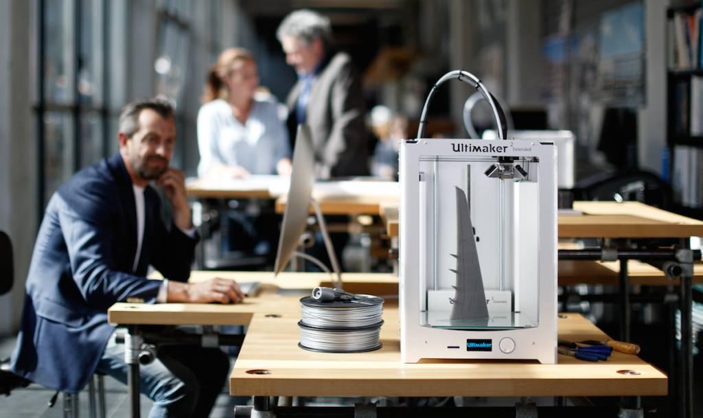 cards 3D Printing Solutions Ultimaker Levering, installatie & training - op locatie